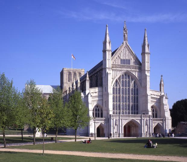 The prayer cards will be handed out during tours of Winchester Cathedral.