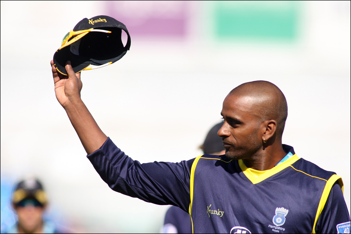 Dimi Mascarenhas played his last game for Hampshire in September