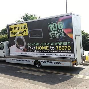 "Vans telling illegal immigrants to ""go home or face arrest"" will not be rolled out across the UK, the Government has confirmed"