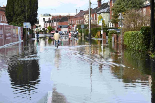 Romsey's Winchester Road flooded twice over the holiday period