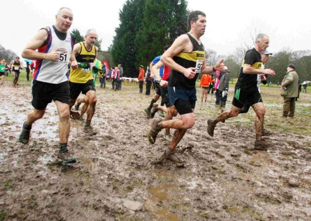 Action from the Hampshire Cross Country Champtionships at Eastleigh's Fleming Park.