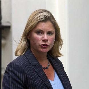 Justine Greening has highlighted the plight of Syrian