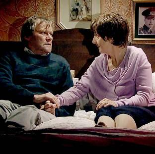 Hayley and Roy Cropper, played by Jul