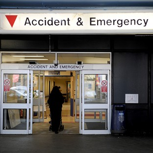 The cost of employing locums in A&E units have increased by 60% in three years