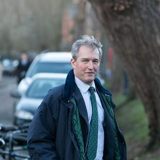Romsey Advertiser: Environment Secretary Owen Paterson claimed spending on flood defences was up