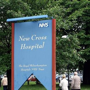 Two parents have been quizzed by police following the death of a baby at New Cross Hospital, Wolverhampton.