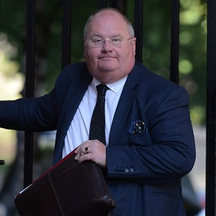 Eric Pickles says the report did not come from his department