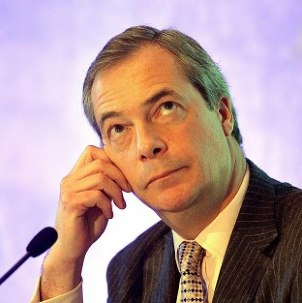 Romsey Advertiser: Nigel Farage was allegedly the victim of an assault.