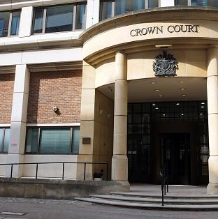 Rebekah Dawson, 22, is standing trial at Blackfriars Crown Court on a single charge of witness intimidation