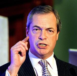 Romsey Advertiser: Nigel Farage said the UK does not have the money to press ahead with HS2