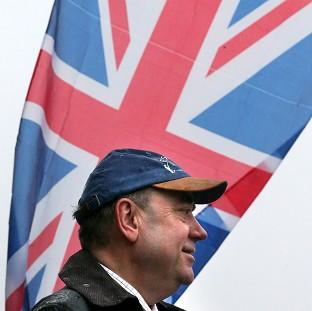 Romsey Advertiser: First Minister Alex Salmond said independence will also bring benefits to the north of England