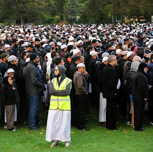 Romsey Advertiser: Hundreds of people attended funeral prayers for Shehnila Taufiq and her three teenage children