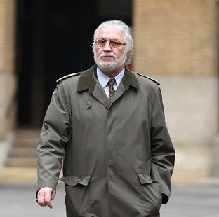 Romsey Advertiser: Former DJ Dave Lee Travis arrives at London's Southwark Crown Court, where he is accused of a series of indecent assaults and one sexual assault