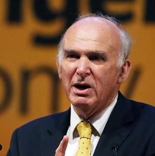 Vince Cable insists the economic recovery is
