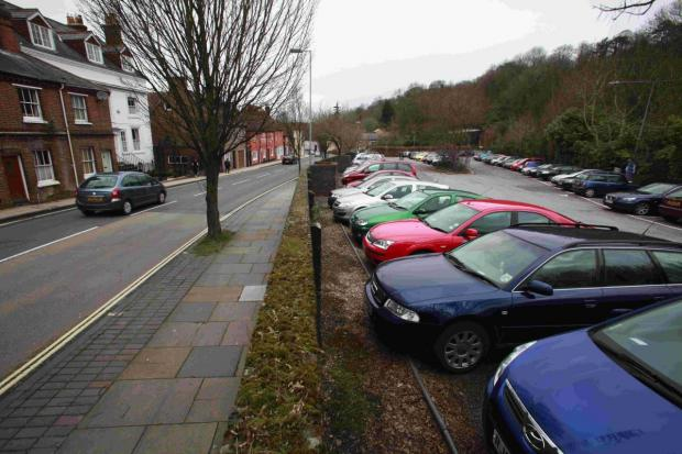 The Chesil Street car park: under threat