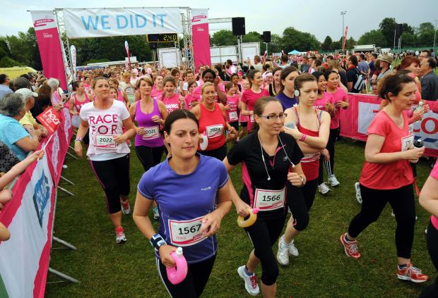 Romsey Advertiser: Winchester to host new Cancer Research Race for Life event