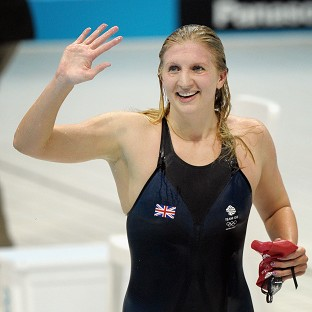 Olympic medal-winning swimmers Becky Adlington and Michael Jamieson battled their way to a Guinness World Record 100 x 100m swimming relay title to raise tens of t