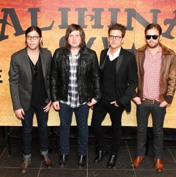 Romsey Advertiser: The Kings of Leon will headline this year's Isle of Wight Festival