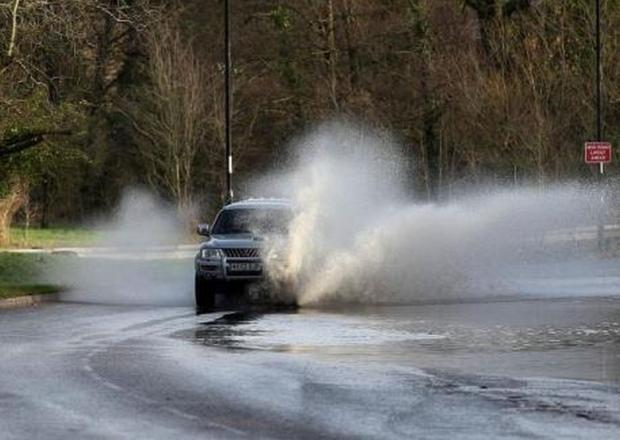 Storm warnings for Hampshire and flood alerts in Winchester district