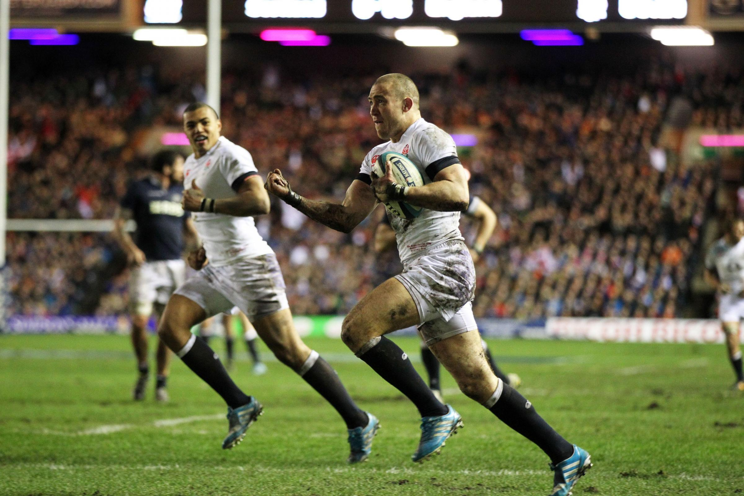 Brown stars in Calcutta Cup win