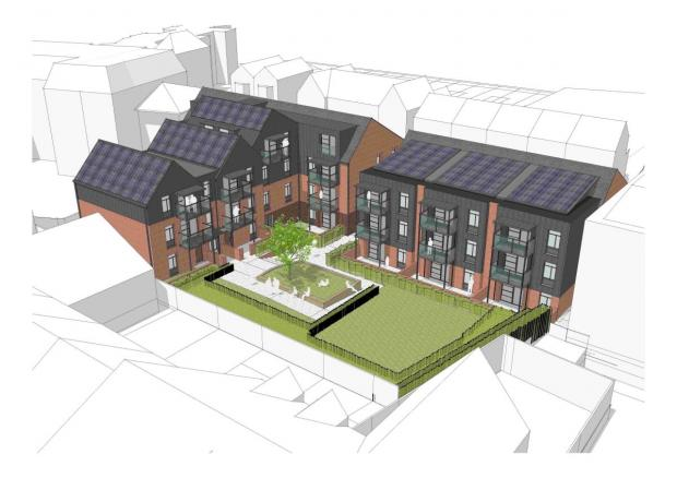 Victoria House on Victoria Road will make way for the development of 27 new flats which could cost over £6m