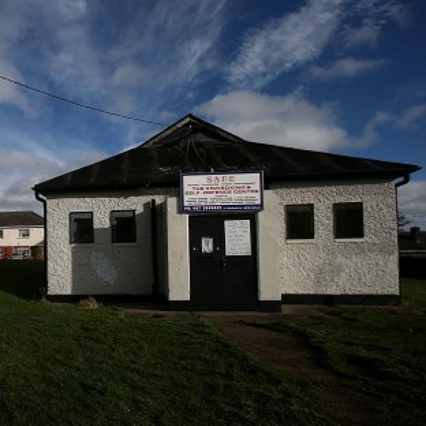 Romsey Advertiser: The British Legion hall in Killester, Dublin, which is on sale for 50,000 euro (�41,000)