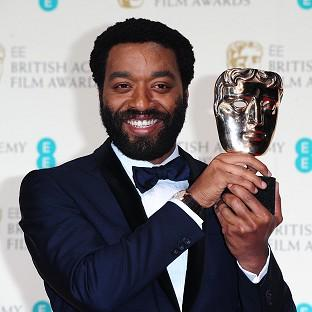 Romsey Advertiser: Chiwetel Ejiofor with the Best Actor award for 12 Years A Slave, at The EE British Academy Film Awards 2014