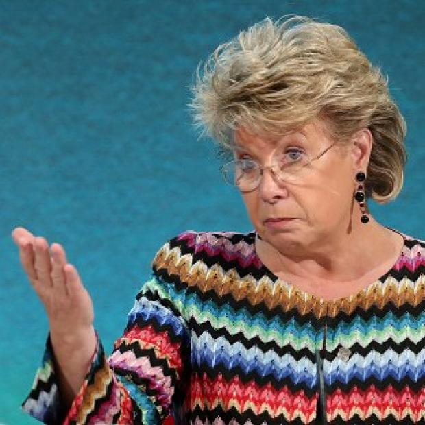 "Romsey Advertiser: Viviane Reding said the ""distorted"" debate about the UK's future in the European Union was distracting from vital reforms and damaging economies"