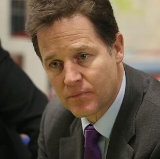 Nick Clegg has condemned the practice of confini