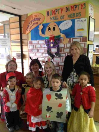 Pre-schoolers and teachers at Lanterns Nursery and Children's Centre in Bereweeke, spent the day as their favourite nursery rhyme character to raise money for the i-Can speech and language charity