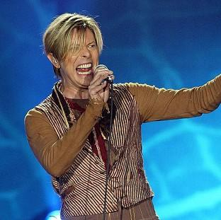 Romsey Advertiser: File photo dated 17/11/03 of Singer David Bowie who is tipped for his first prize at the BRIT Awards for almost two decades, with Arctic Monkeys and Ellie Goulding also among favourites for the big event tomorrow.