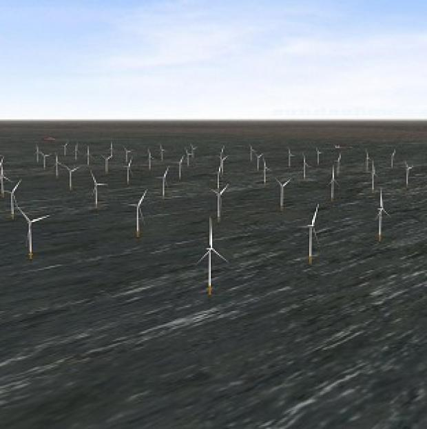 Romsey Advertiser: London Array's wind farm is the biggest of its kind in the world (PA/London Array)