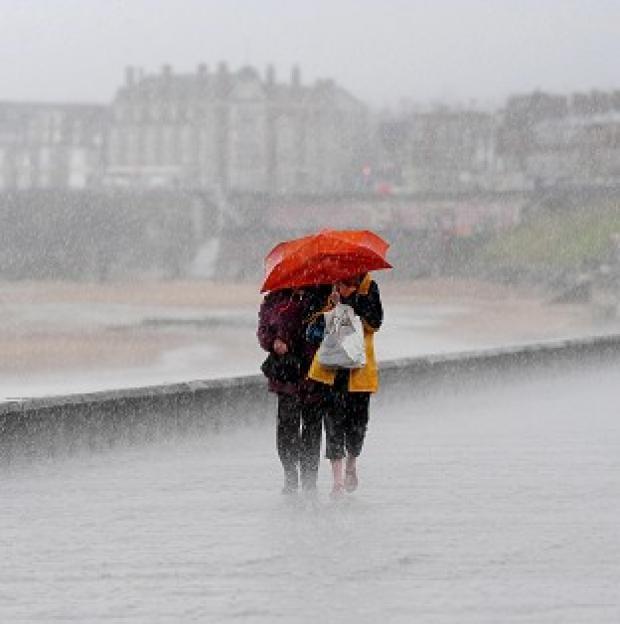 Romsey Advertiser: Pockets of northern England, Wales and Scotland can expect up to 40mm of rain, forecasters say