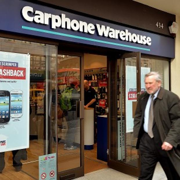 Romsey Advertiser: Carphone Warehouse is the subject of merger talks by Curry and PC World parent firm Dixons Retail Group