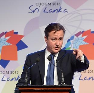 Romsey Advertiser: Prime Minister David Cameron during November's summit in Colombo, Sri Lanka