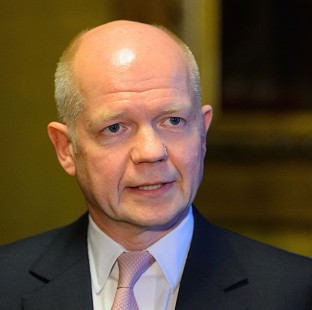 William Hague says the UK is 'continuing to do everything we can' to bring the crisis in Syria to an end