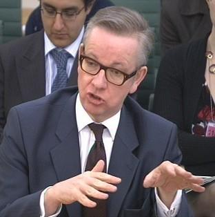 Education Secretary Michael Gove has said the number of former Eton pupils in the top ranks of government is
