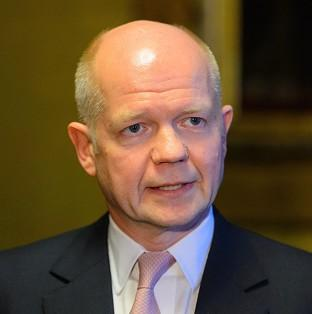 William Hague says EU foreign ministers should press ahead with sanctions against Moscow