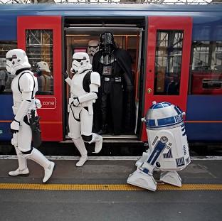Romsey Advertiser: R2-D2 (right) is to feature in the new Star Wars film.