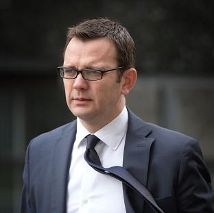 Former News of the World editor Andy Coulson