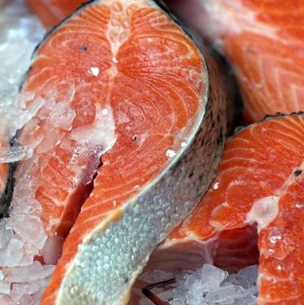 Romsey Advertiser: Salmon sales were up 38% to �465 million