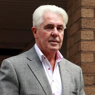 Romsey Advertiser: Publicist Max Clifford arrives at Southwark Crown Court where he is accused of a total of 11 counts of indecent assault against seven women and girls