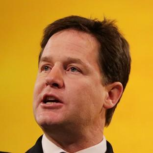 Nick Clegg will tell the Scottish Lib Dem conference that there is an 'ever hardening consensus' between his party, Labour and the Conservatives on devolution
