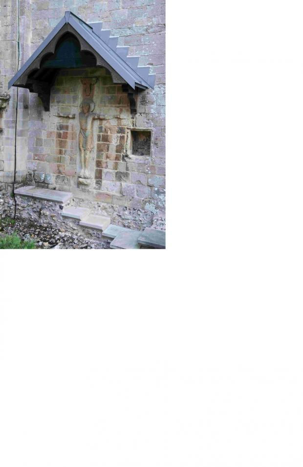 Romsey Advertiser: Romsey Abbey's 11th century Saxon Rood