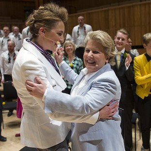 Thousands celebrate with Toksvig