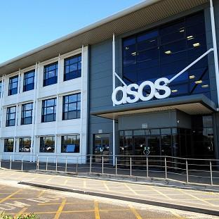 Romsey Advertiser: ASOS says it is keeping its sights on the long-term picture after expansion costs sent half-year profits plunging
