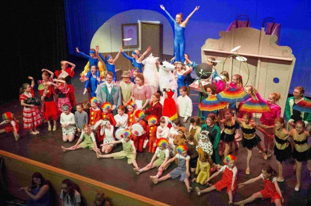 Rainbows, Brownies, Guides and Rangers all took part in the show Dr Dolittle, which was staged at St Swithun's School, with backstage support from the Chesil Theatre