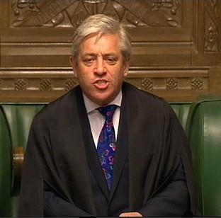 "Romsey Advertiser: John Bercow says Parliament is ""spray painting its own shop window"""