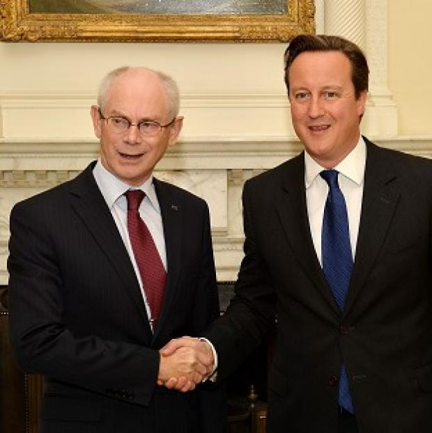 Romsey Advertiser: Herman Van Rompuy and David Cameron are to hold talks at Chequers