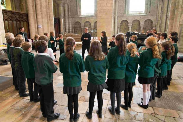 Cheriton Primary School pupils learned about the pipe organ at a special workshop held at the cathedral